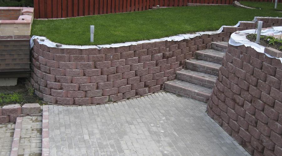 Куплю блоки для подпорных стенок